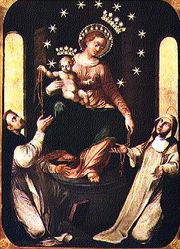 Icona della Madonna di Pompei