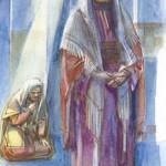 XXX - due uomini salirono al tempio a pregare