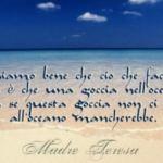 Madre Teresa goccia oceano