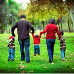 famiglia 3 figli