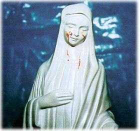 le lacrime della Madonna di Civitavecchia